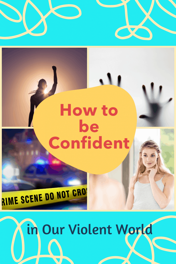 how to be confident crime scene