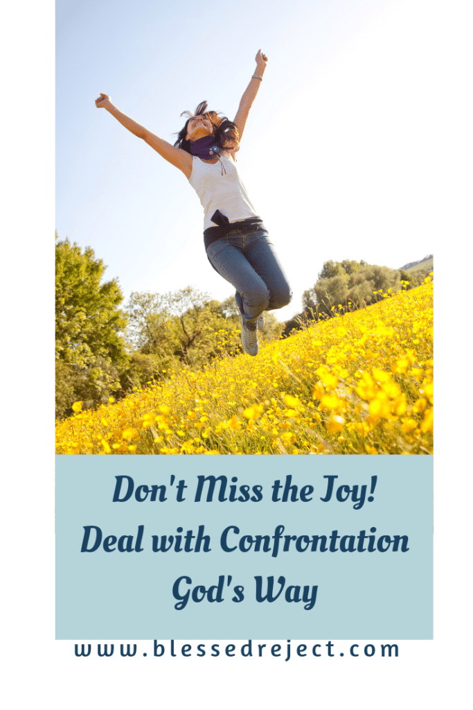 Don't miss the joy! Deal with confrontation God's way. Commentary on 2 Corinthians 7