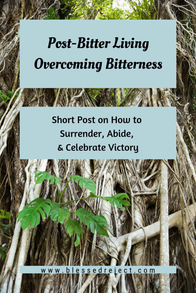 Post-Bitter Life Overcoming Bitterness