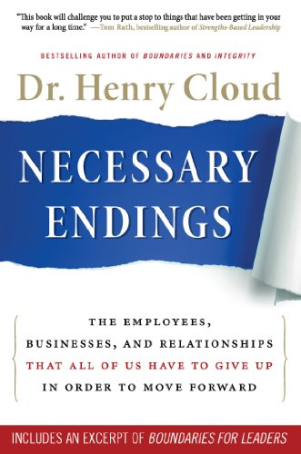 how to end it well, book cover of Necessary Endings