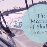 Reaching the Meaning of Shalom