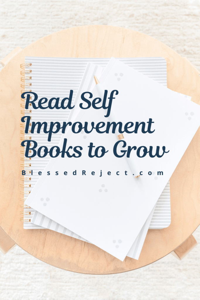 stack of books on self improvement to read