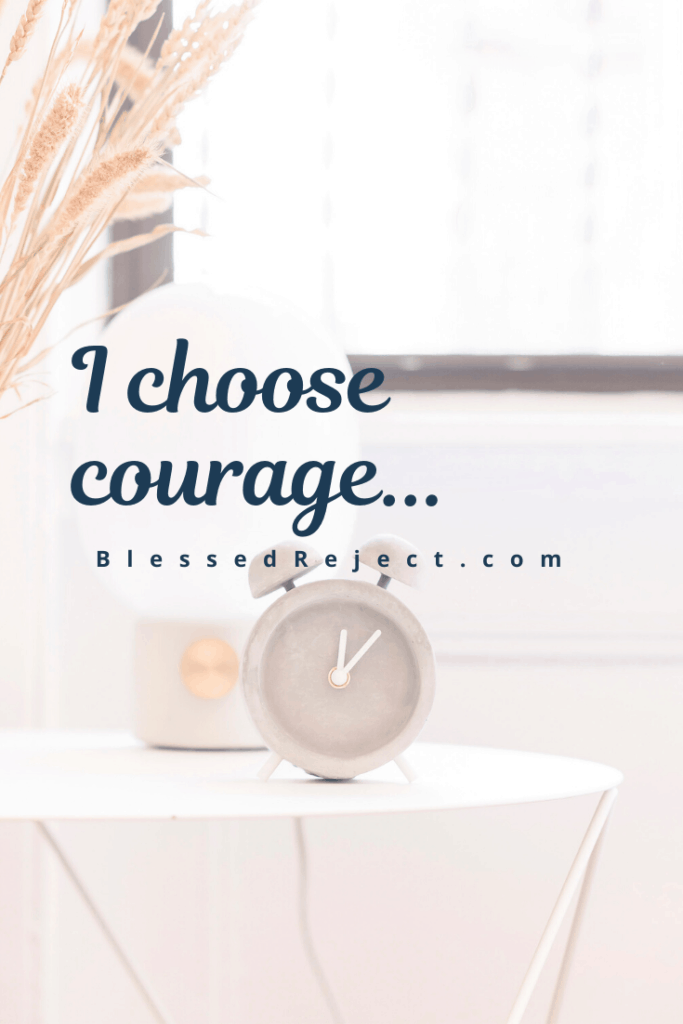alarm clock to help choose courage