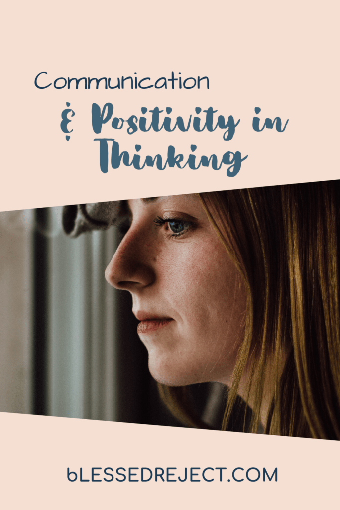woman working on positivity in thinking