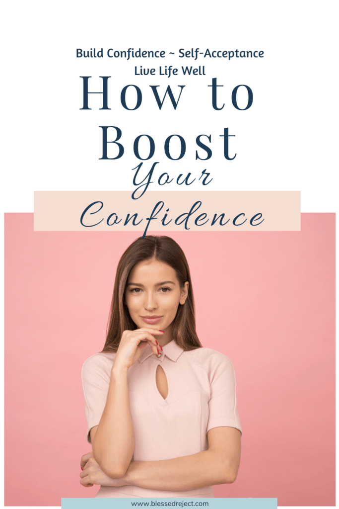 Boost your confidence woman