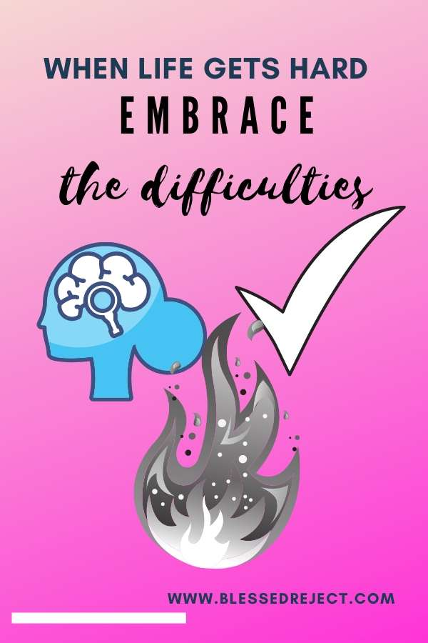 Embrace difficulties brain fire and checkmark