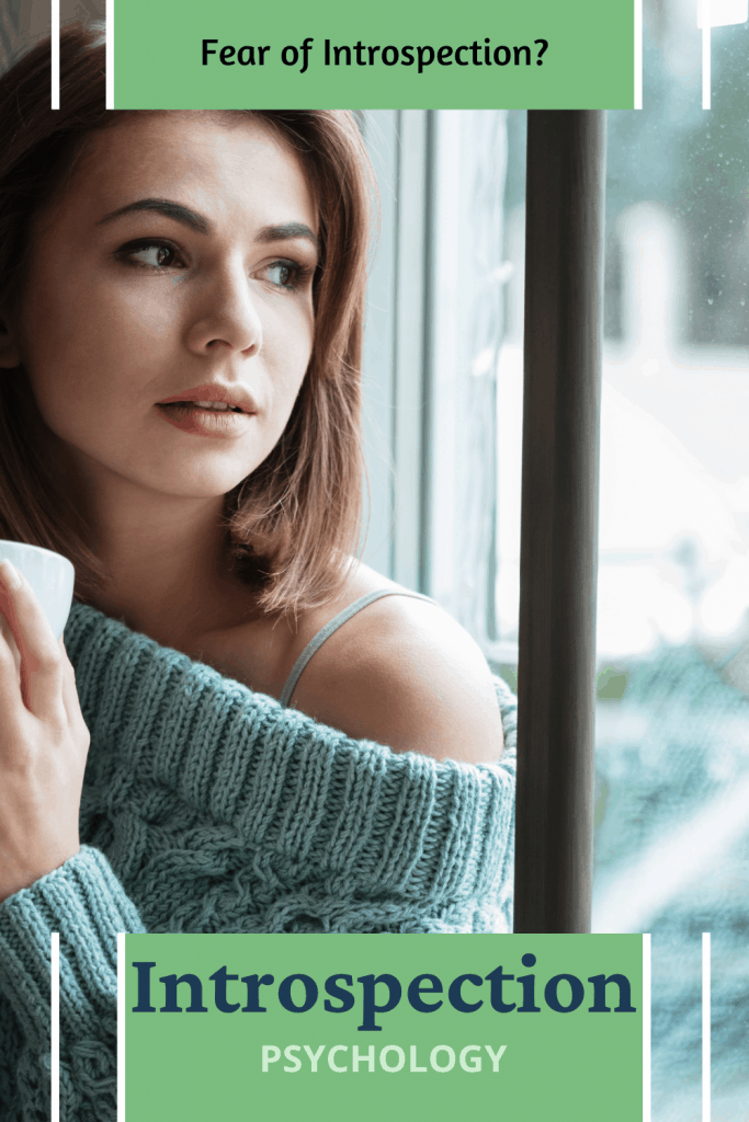 woman going through introspection psychology
